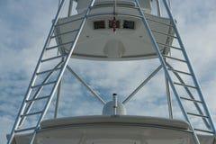 Ladders op een vissersboot Stock Afbeeldingen