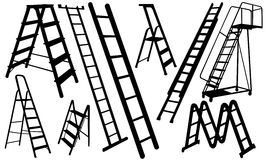 Ladders Royalty Free Stock Image