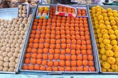 Laddus Indian Sweet Stock Photos