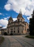 王宫La格兰哈de圣伊尔德丰索,西班牙 免版税库存图片