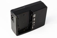 Ladegerät die Batterie für Foto- und Videoausrüstung Lizenzfreie Stockfotos