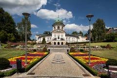 Ladek Zdroj i Polen Arkivbild