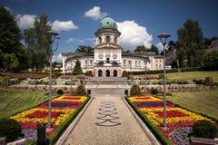 Ladek Zdroj i Polen Fotografering för Bildbyråer