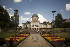 Ladek Zdroj in Poland Stock Image
