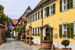 Ladenburg, Allemagne Images libres de droits