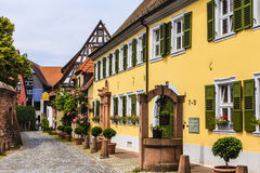 Ladenburg, Duitsland Royalty-vrije Stock Afbeeldingen