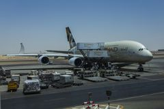 Ladenflugzeuge Stockfoto