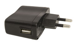 Lader usb Stock Foto