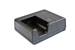 Lader voor batterij Stock Afbeelding