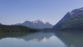 Ladera aislada en Alaska Foto de archivo libre de regalías
