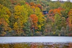 Ladera del lago hessian fotos de archivo