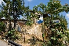 Ladera Guatemala casera Foto de archivo libre de regalías