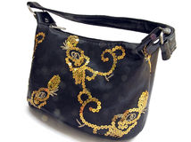 Ladies' bag. For chic women and girls Royalty Free Stock Images