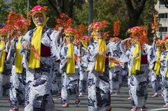 Autumn celbration at Nagoya Festival, Japan