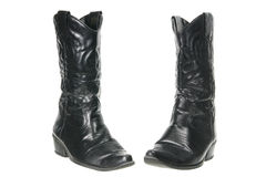 Ladies Boots Stock Photo