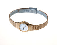 Ladies Bracelet Watch Stock Photos