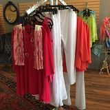 Ladies Clothing Display Royalty Free Stock Images