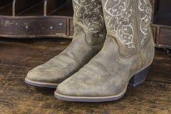 Ladies Cowboy Boots Royalty Free Stock Photos