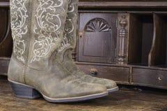 Ladies Cowboy Boots Stock Image
