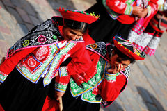 Ladies from Cusco Stock Photos