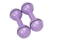 Ladies Dumbbells Stock Photos