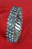 Ladies expandable bracelet. Royalty Free Stock Image