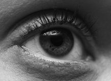 Ladies Eye Royalty Free Stock Images