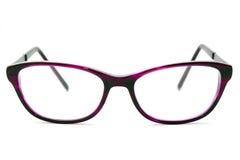 Ladies Eyesight Glasses. Isolated on a white background Royalty Free Stock Photography