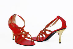 Ladies fancy shoes Royalty Free Stock Image