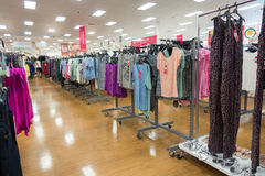 Ladies' fashion, Big W department store Royalty Free Stock Photo