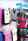 Ladies Fashion Retail Outlet in India Royalty Free Stock Image