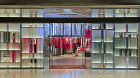 Ladies fashion store Royalty Free Stock Photos