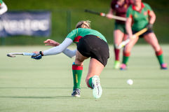 Ladies Field Hockey Royalty Free Stock Photography