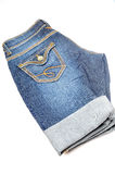 Ladies folded shorts Stock Images