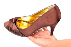 Ladies footwear Royalty Free Stock Photo
