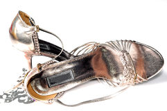 Ladies footwear Royalty Free Stock Image