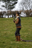 Ladies Game Shooting Season II. Lady gun kitted out for the day's shooting royalty free stock photo