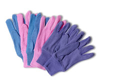 Ladies gardening gloves Royalty Free Stock Photography