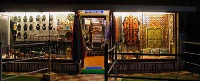 Ladies Gift Shop in Kovalam Beach Stock Photo