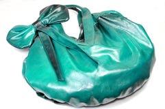 Ladies green purse Royalty Free Stock Photos
