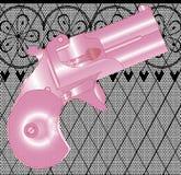 Ladies Gun Royalty Free Stock Images