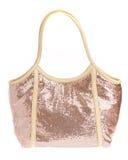 Ladies' handbag on a white background Royalty Free Stock Photos