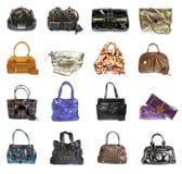 Ladies' handbag on a white background Stock Photo