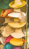 Ladies hats for summertime. Stock Image