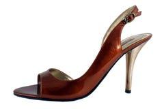 Ladies high heel shoe Stock Image