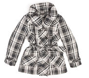 Ladies' jacket in black and white square Stock Photography