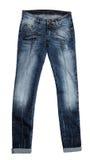 Ladies jeans Royalty Free Stock Image