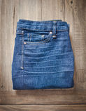 Ladies' jeans Stock Photos