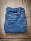 Ladies' jeans Stock Photos