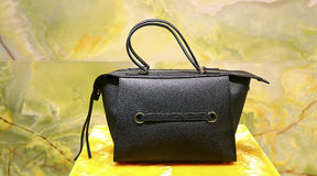 Ladies leather handbag Royalty Free Stock Images
